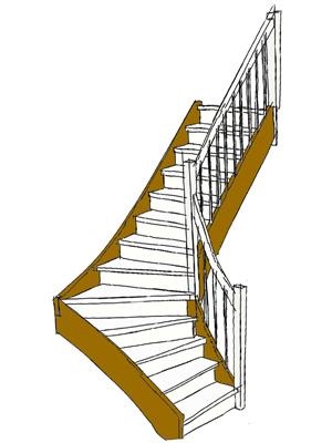 Wange treppe